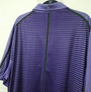 Nike Shirts - NIKE Tiger Woods Collection Polo Golf Shirt Purple